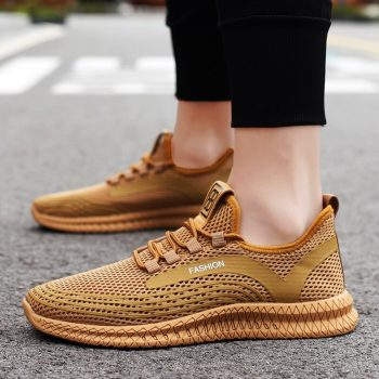 Summer Mesh Shoes Men Casual Shoes black Sneakers Men Breathable Running Shoes For Man Footwear Men's Sneakers zapatos de hombre
