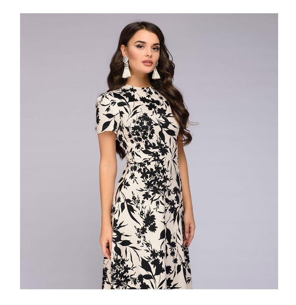 S.FLAVOR Women Long Dress Short Sleeve Floral Print Boho Dress Elegant Party Dress Slim Maxi  vestido de festa