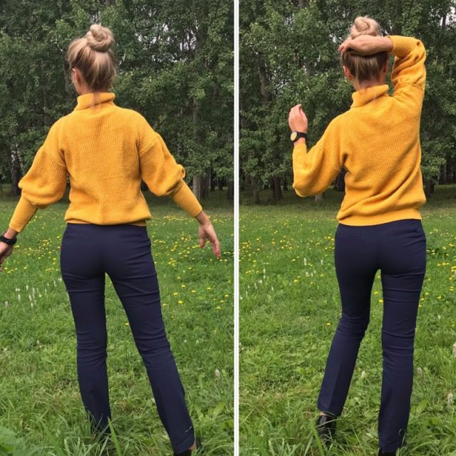Lossky Women Knitted Sweater Turtleneck Long Sleeve Tops Autumn Winter Leisure Yellow Loose Pullovers Soft Minimali Sweater 2019