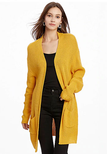Long Sleeve Knitted Loose Cardigan Sweaters & Coat Minimalist
