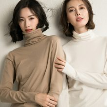 Lossky Sweater Korean Style Women Tops Fall Black Turtleneck Pullover Knitwear 2019 Ladies Autumn Winter Warm Clothes Pull Femme