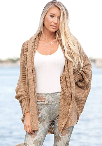 Women Sweater Top Long Sleeve Elegant Shawl Cardigan Coat Ladies Black Loose Tunic Long Jacket New Autumn Winter Wear