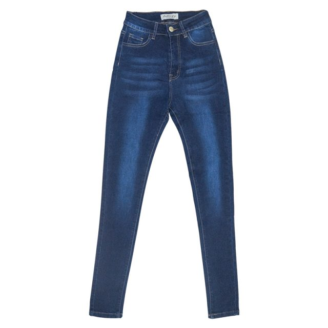 Skinny Jeans for Women with High Waist Pants