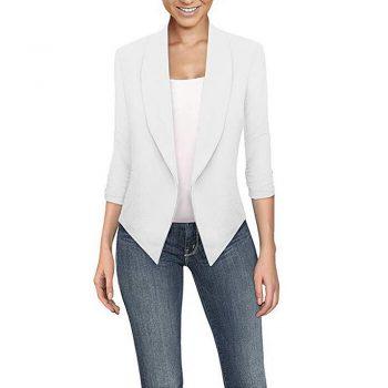 2019 Ladies Blazer Long Sleeve Blaser Women Suit jacket Female Feminine Blazer Femme Solid Color Women Blazer Autumn