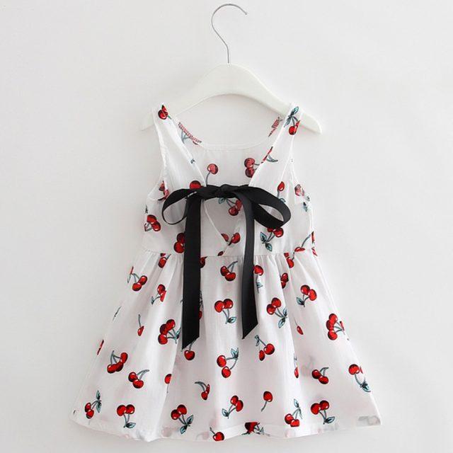 ARLONEET 2019 New summer babys Dress Toddler Girls Summer Princess Dress Kids Baby Party Wedding Sleeveless Dresses Z0207