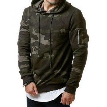 MJARTORIA  Camouflage Hoodies Men 2019 New Fashion Sweatshirt Male Camo Hoody Hip Autumn Winter Hoodie Mens Clothing