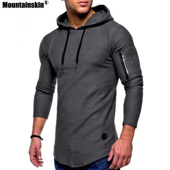 Mountainskin Men's Hoodies Spring Autumn Sportswear Long Sleeve Casual Hooded Shirt Mens Brand Clothing Male Sweatshirt SA627