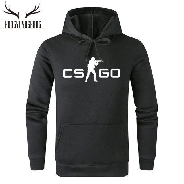 2018 Autumn Winter Fashion CS GO Hoodies Men Game Print Sweatshirts CSGO Hoodie Homme Pullover Brand Hombre Cotton Clothing W15