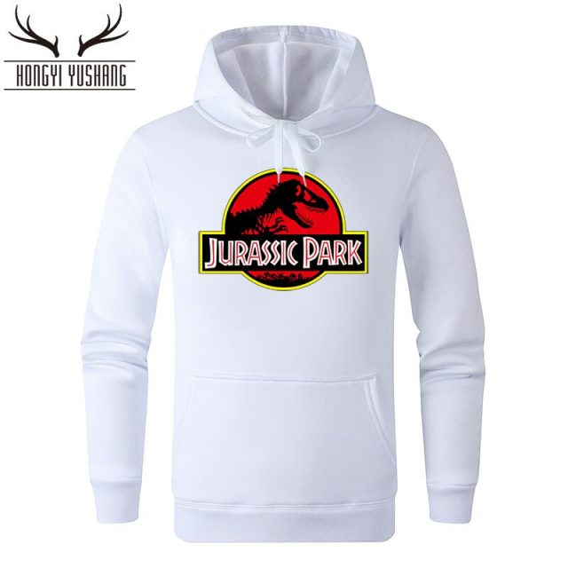 Jurassic Park Sweatshirt Men Women Pullover Fleece Hoodies Vintage Style Jurassic World Hoodie Unisex Jumper Casaco Feminino W88
