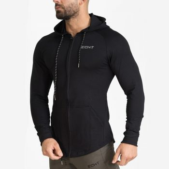 Spring Men Brand Hoodies Casual Sweatshirt Jacket Male Skinny Coat Tops Gyms Fitness Male Joggers Workout Sportswear Tracksuits