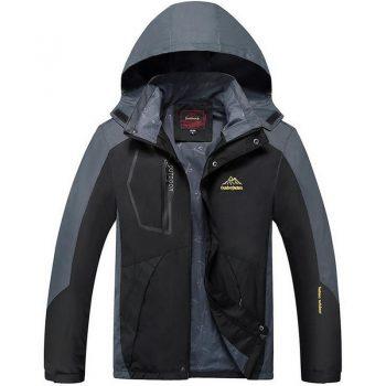 Plus Size 6XL 7XL 8XL 9XL Men's Casual Waterproof Jacket Spring Autumn Windproof Windbreaker Breathable Tourism Mountain Coat
