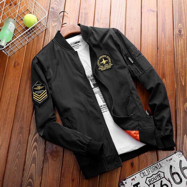 Spring Autumn Korean Fashion Clothing Male Bomber Jacket Men Casual Coat Windbreaker Light Weight Baseball Jacket