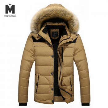 Hooded Men Winter Jacket 2018 New Fashion Thicken Warm Hooded Parkas Coats Male Casual Outwear Padded Outwear Casaco Masculino