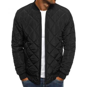 Quality Slim Fit Warm Men Parka Jacket Autumn Winter Men's Lightweight Windproof Packable Jacket Solid Jackets Outwear New