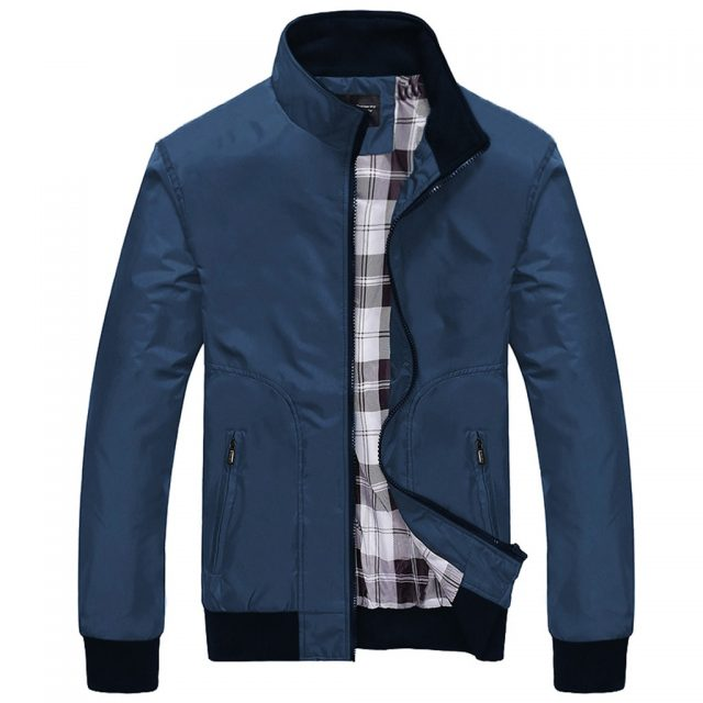 Men's Jackets Casual Autumn Fashion Pure Color Patchwork Jacket Zipper Sport Outwear Coat Hooded Mens Tops Blouse 2020 New