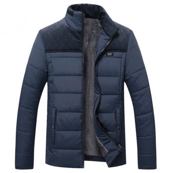 Thick Winter Coats Men's Jackets 4XL 2019 New Arrival Casual Parkas Men Slim Outerwear Solid Male Jackets Fashion Brand Clothing