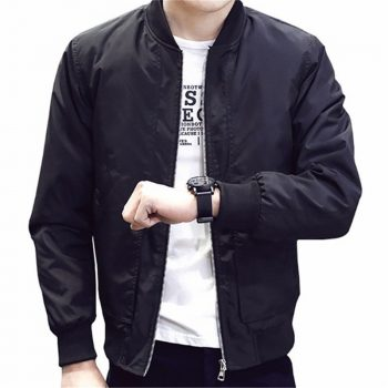 2019 New Bomber Jackets Men Autumn Spring Hot Sale Thin Mens Jackets And Coats Quality Slim Fit Casual Style Brand Clothing 4XL