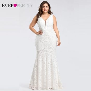 Corset Lace Mermaid Wedding Dresses 2019 Ever-Pretty Design Simple Elegant Wedding Gowns for Bride Dress Boda robe de mariee