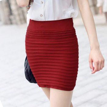 New Mini Skirt 2019 Summer Women Sexy Skirts Bodycon Girls Tight Office Work Short Pencil Skirt