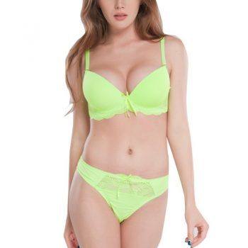 2018 New Women Sexy Bra Set Solid Vs Bra Thong Sets Sexy Plus Size Lingerie Suit Lace Bra And Panties Female Push Up Bra Sets