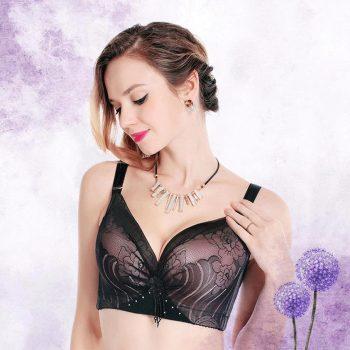 OUDOMILAI Big Size Bras For Women Brassiere plus size women Push Up Bra Large Cup Breasts D E thin Lingerie soutien gorge femme
