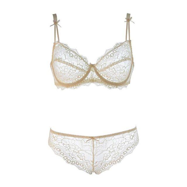 Varsbaby New Top Quality Sexy Underwear Women Bra Set Lace Bra Lace Push Up Lingerie Set