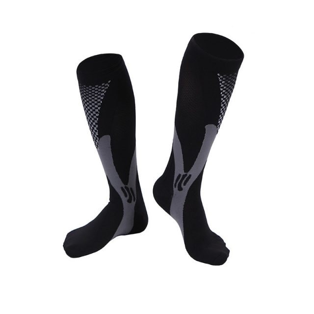 Men Women Leg Support Stretch Compression Socks Below Knee Socks Men Winter Mens Wool High Quality Socks