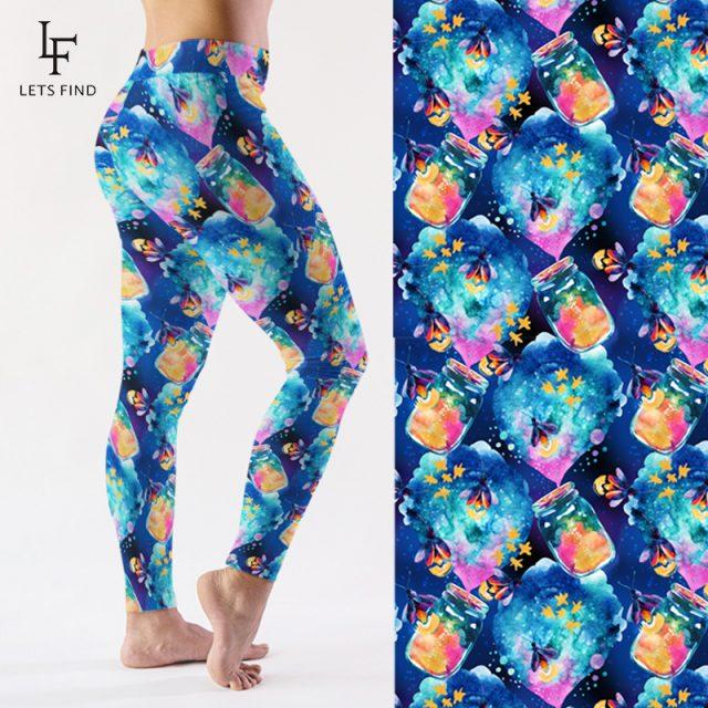 LETSFIND High Quality Women Fashion 2019 High Waist Leggings 220gsm Double Side Brushed Milk Silk Fitness Leggings