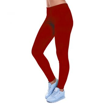2019 fashion new ladies fitness slim casual sports leggings winter low waist stretch soft black red solid color sexy