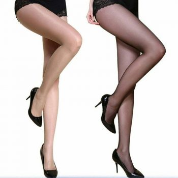 Women 4D Shaping Stovepipe  High Elastic Footed Tights IK88
