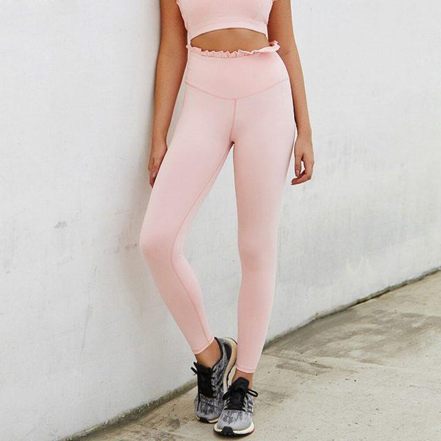 Yoga Pants Women Fitness Sport Leggings Push Up Yoga Leggings Gym High Waist Seamless Leggings Workout Sports Wear For Women Gym