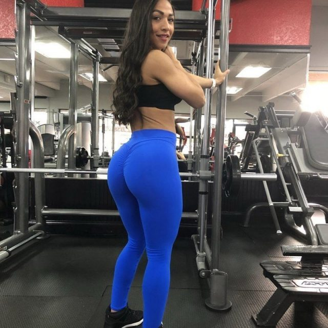 Push Up Sport Yoga Pants Women High Waist Yoga Sport Leggings For Fitness Gym Workout Sport Tights Running Pants Sports Clothing
