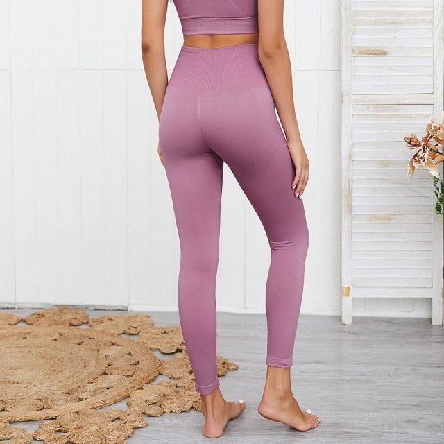 Yoga Pants Vital Seamless Leggings Sport Women Fitness Gym Leggings High Waist Yoga Leggings Sport Pants Women Sportswear Gym