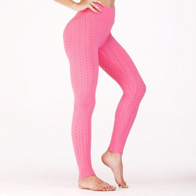 Yoga Leggings Women Fitness Solid High Waist Sport Leggings Women Push Up Yoga Pants Women Running Tights Sport Pants Sportswear