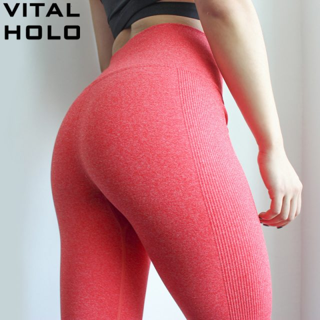 High Waist Sport Yoga Pants Women Fitness Yoga Sport Leggings Elastic Running Pants Gym Jogging Seamless Leggings Sport Clothing