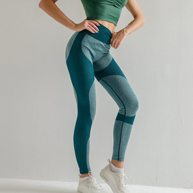 Gym Leggings Sport Women Fitness Leggings Yoga Vital Energy Seamless Leggings Push Up Yoga Pants Women Sport Pants Sports Wear