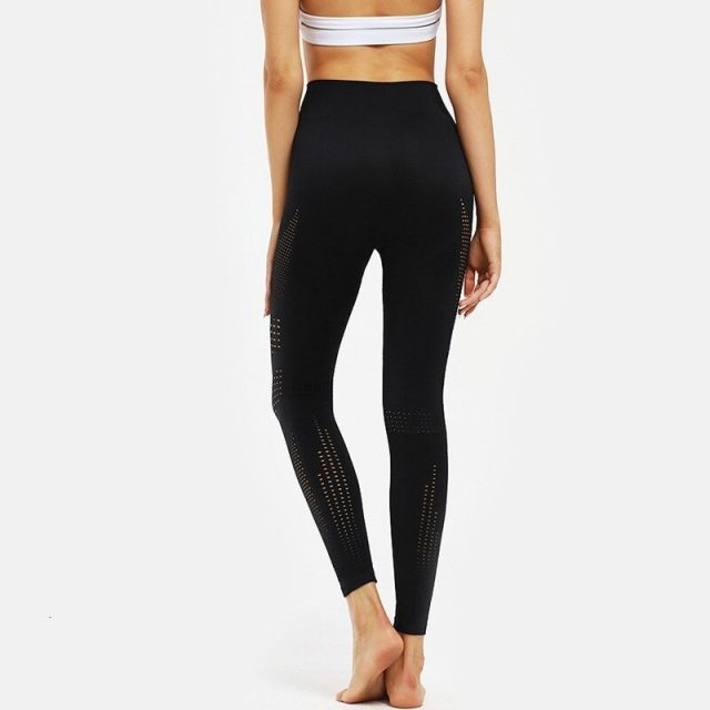 Sexy Seamless Leggings High Waist Sport Yoga Pants Push Up Elastic Yoga Sport Leggings Fitness Gym Running Pants Sports Clothing