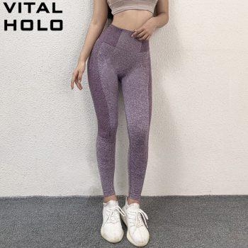Yoga Pants Women Seamless Leggings Push Up Gym Leggings Sport Women Fitness Clothing Sport Tights Women Tummy Control Leggings