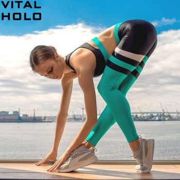 Yoga Set Women Fitness Clothing Gym Set Sport Suit Women High Waist Gym Leggings Padded Sports Bra Workout Clothes For Women Gym