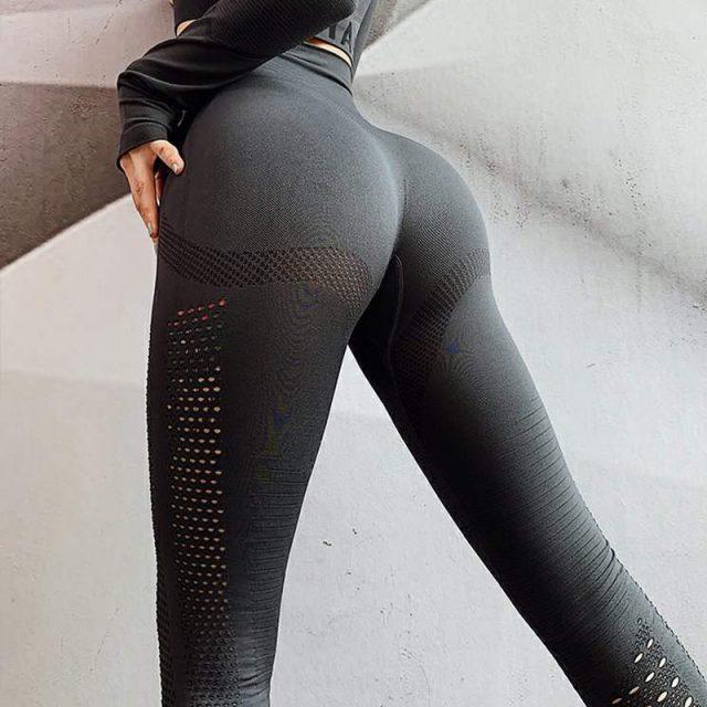 Yoga Seamless Leggings Sport Women Fitness Push Up Yoga Pants Women Gym Leggings Highly Elastic Scrunch Leggings Sexy Gym Tights