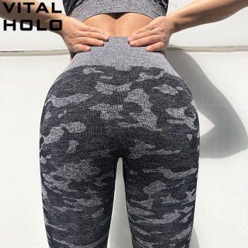 Camo Seamless Leggings Fitness Women Seamless Yoga Pants High Waist Sport Leggings Gym Yoga Leggings Sports Wear For Women Gym