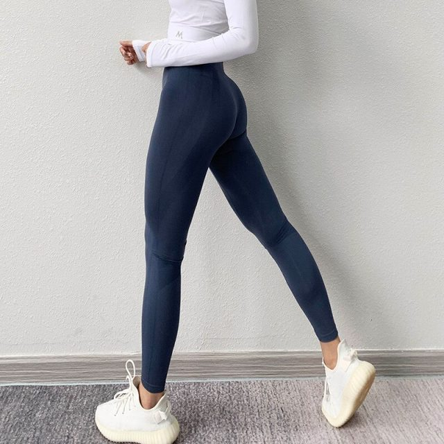 Sexy Yoga Pants High Waist Seamless Leggings Sport Women Fitness Gym Leggings Workout Tummy Control Leggings Sport Tights Women
