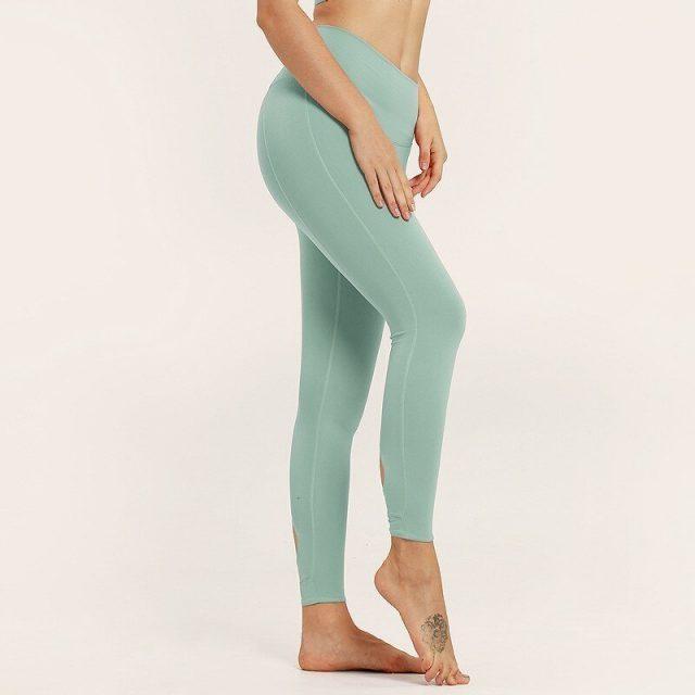 Solid Yoga Seamless Leggings High Waist Sport Yoga Pants Running Tights Women Fitness Gym Jogging Sport Leggings Sport Clothing