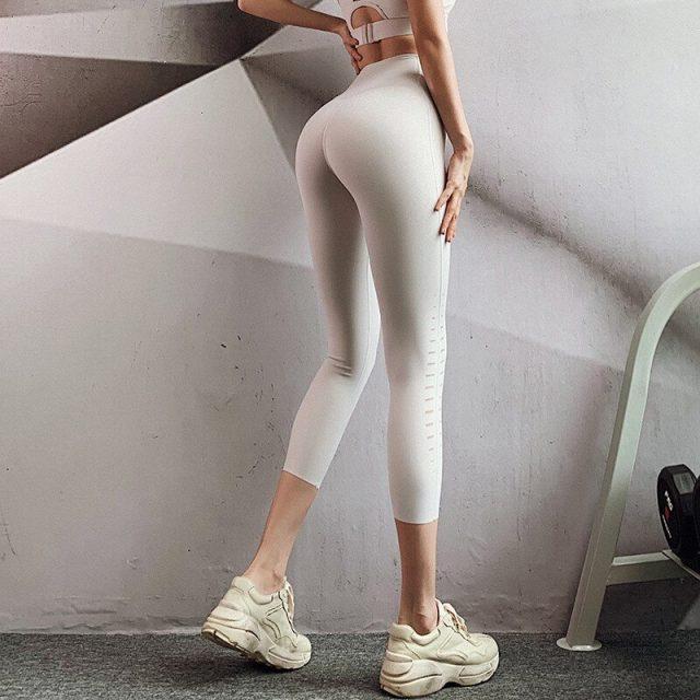 Yoga Pants Women Fitness Sport Leggings High Waist Gym Leggings Yoga Tummy Control Leggings Workout Sport Pants Sportswear Women