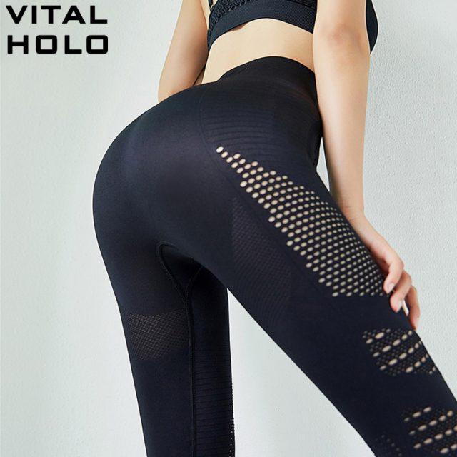 Yoga Pants Running Training Pants High Waist Seamless Leggings Sport Women Fitness Yoga Leggings Gym Sports Wear For Women Gym