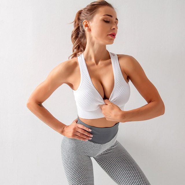 Seamless Sports Bra For Women Gym Sport Bra Top Push Up Yoga Bra Fitness Brassiere Sport Femme Sexy Underwear Women Sports Top
