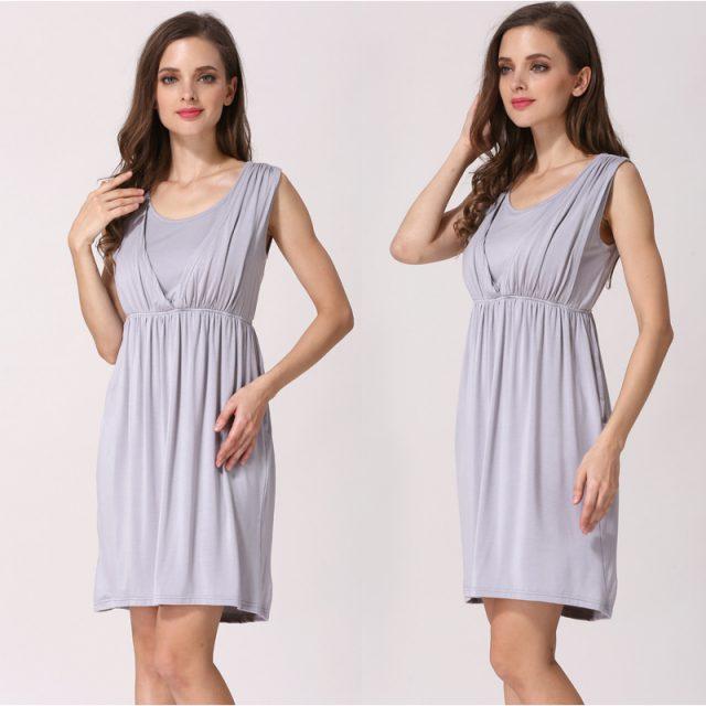 Emotion Moms V-Neck Summer maternity clothes Maternity Dresses Breastfeeding Clothes For Pregnant Women Nursing pregnant dress