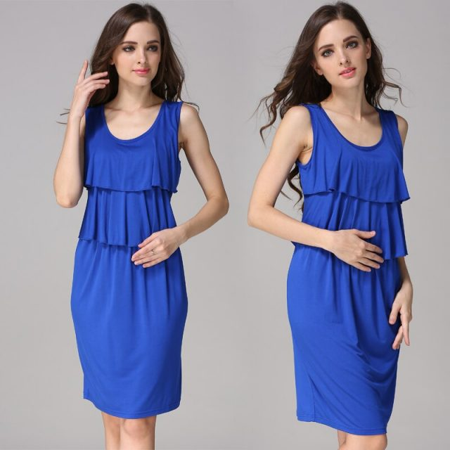 Emotion Moms Summer Pregnancy Maternity Clothes Breastfeeding Dresses Women Nursing Dress Lactancia Wear CLEARANCE PRICE