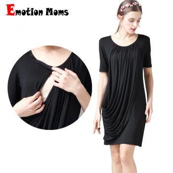 Emotion Moms Summer Maternity Clothes maternity dress Breastfeeding dresses Pregnancy Clothes for Pregnant Women Nursing dress