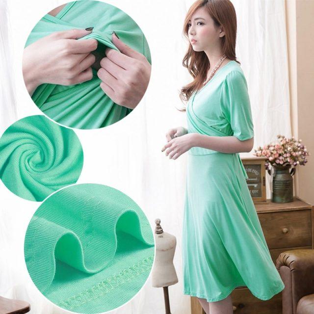 Emotion Moms Maternity Clothes Fashion Maternity Dresses pregnancy Breastfeeding clothing for Pregnant Women Nursing Dress